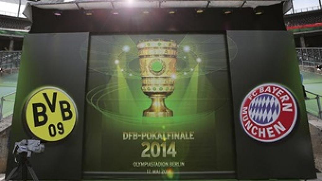 Pokalfinale Berlin FCB – Borussia Dortmund
