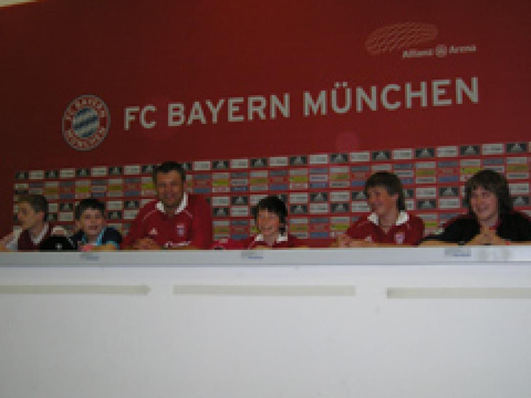 Besichtigung Allianz-Arena