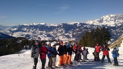 Fanclub-Schifahrt nach Wagrein im Salzburgerland