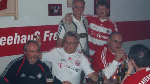 """Besuch beim Fanclub """"Seehaus"""" in Freyung"""
