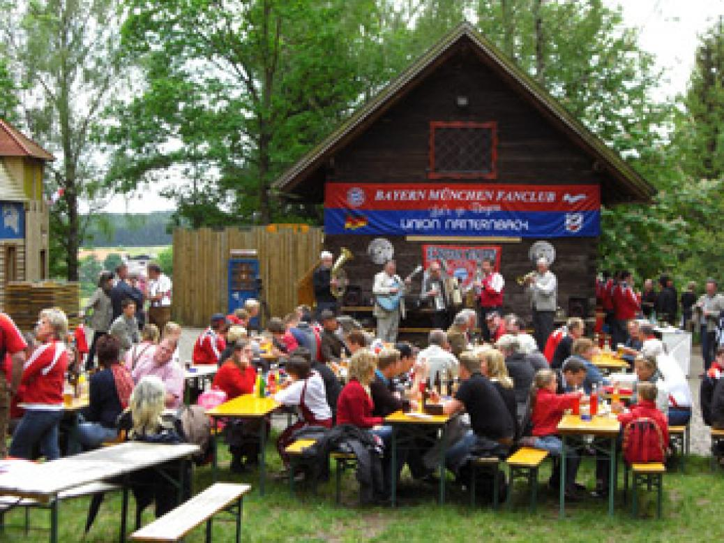 Fanclub-Sommerfest und Meisterfeier am Indianerspielgelände
