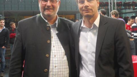 """Gerald Stutz mit Familie bei """"Doppelpass"""" im Hotel Kempinski"""