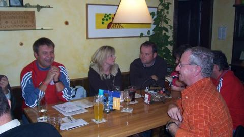 Vorstandssitzung im Gasthaus Litzlbauer in Tal