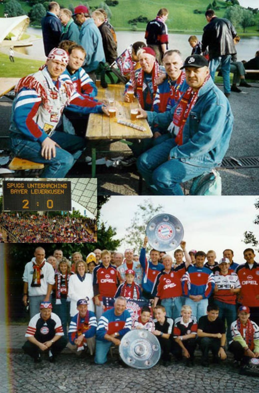 FCB ist Deutscher Meister 2000 dank dem SV Unterhaching