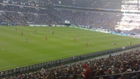 """""""Heisl"""" Hannes auf Schalke"""