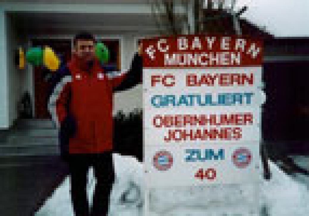 Johannes Obernhumer feiert 40er