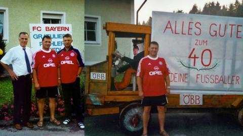 Manfred Pichler feiert 40er