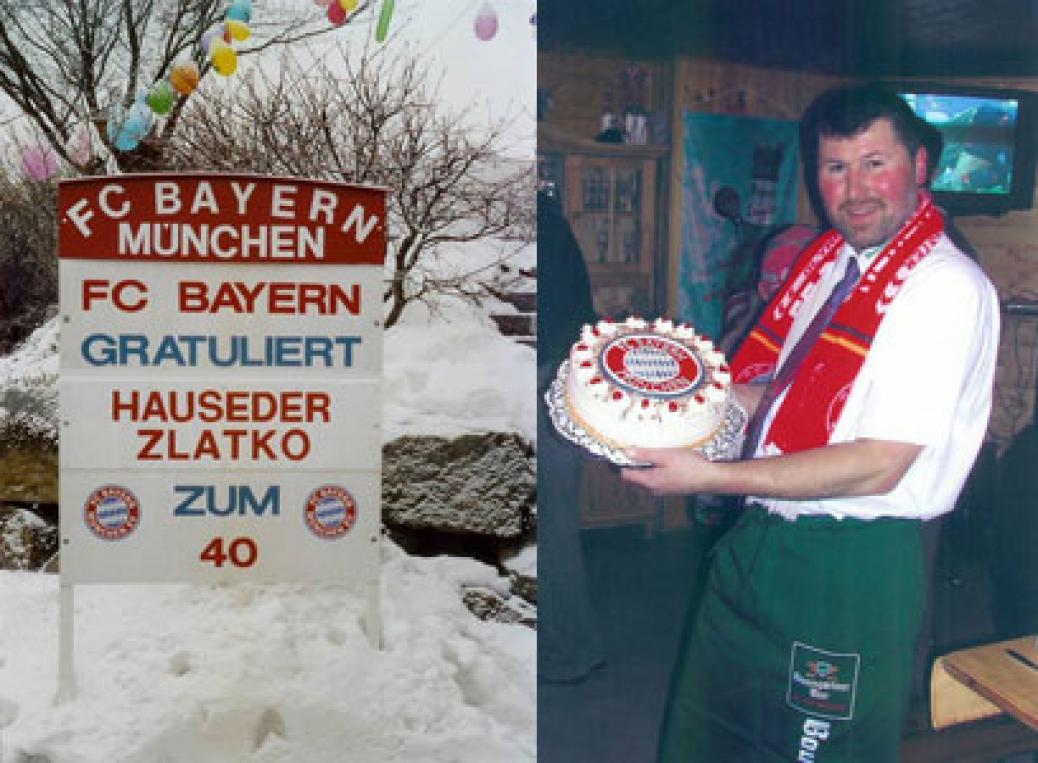 Zlatko Hauseder feiert 40er