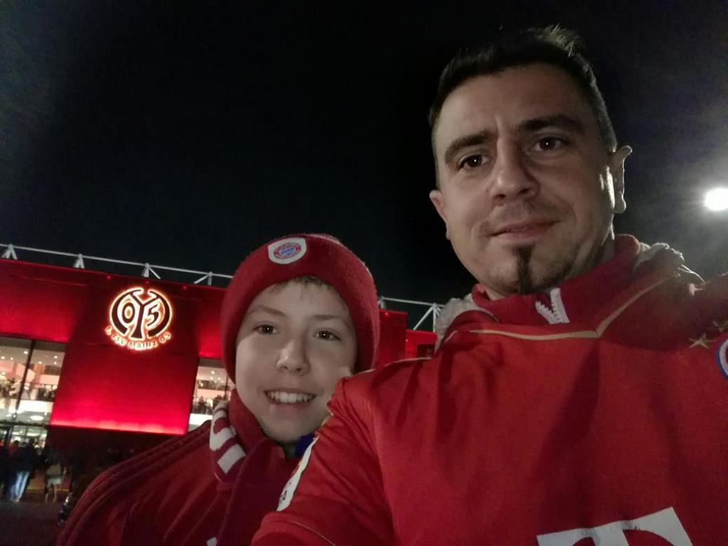 1.FSV Mainz 05  vs  FC BAYERN