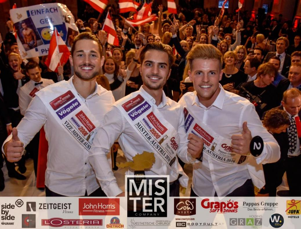 Fanclubmitglied 3. bei Mr. Austria Wahl