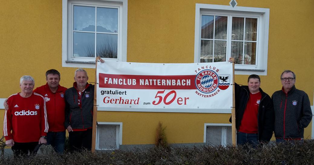 Huemer Gerhard wurde  50