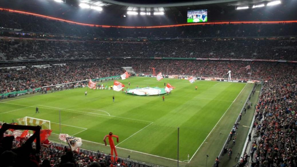 FC BAYERN  vs  Schalke 04  (Pokal)