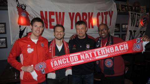 Besuch beim FCB Fanclub New York City