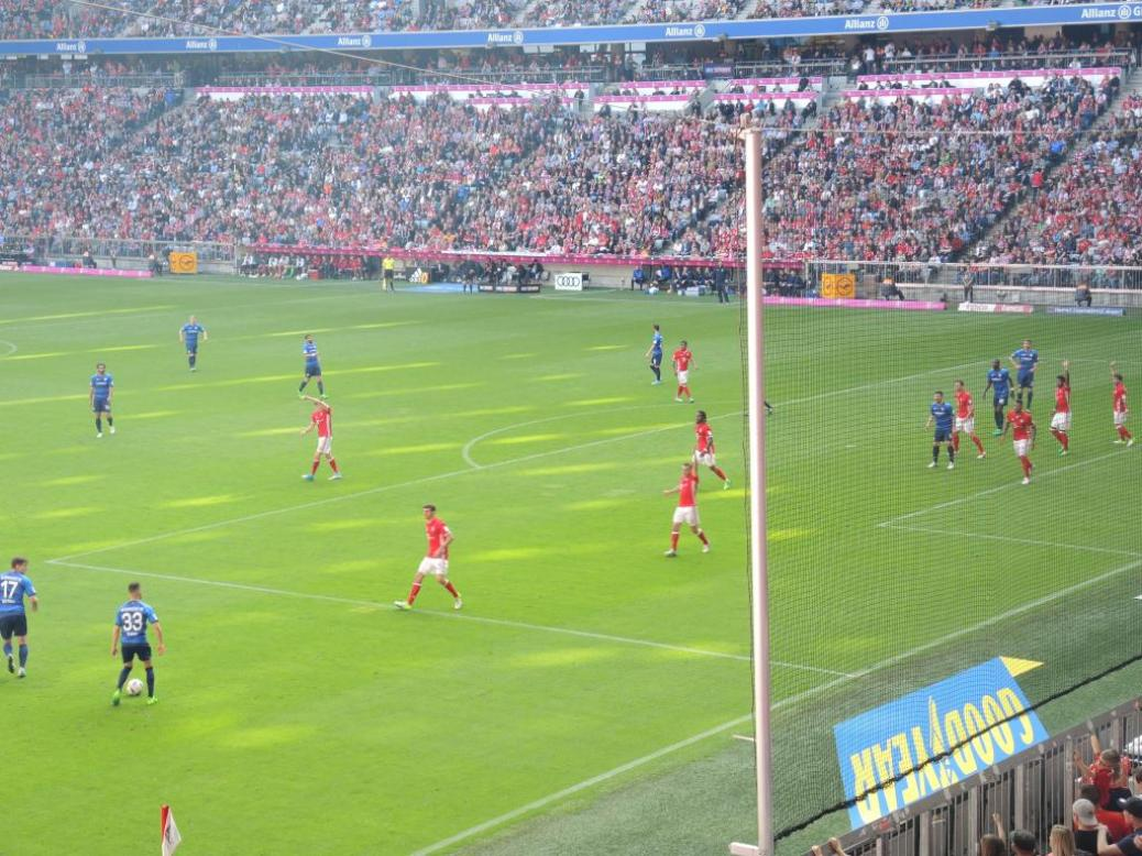 FC BAYERN  vs  SV Darmstadt 98
