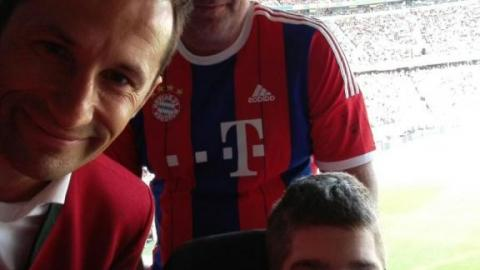 """TOBI"" in der Allianz Arena"