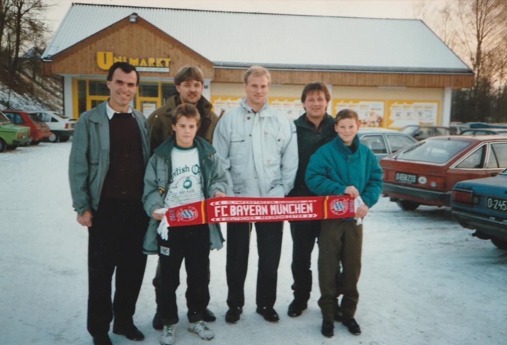 Weihnachtsfeier in Vorchdorf mit FCB-Spieler Hans Pflügler