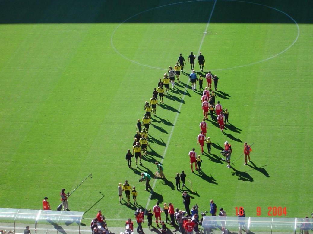 Besuch des Auswärtsspieles gegen Dortmund