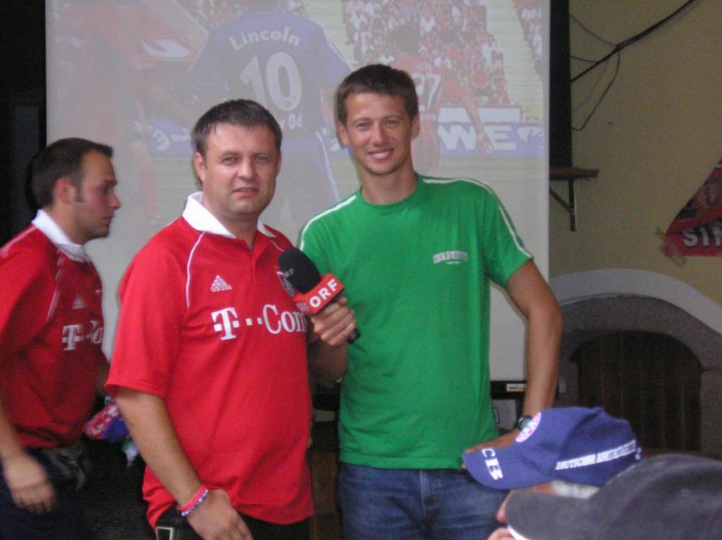 ORF-Wien dreht Reportage über unseren Fanclub