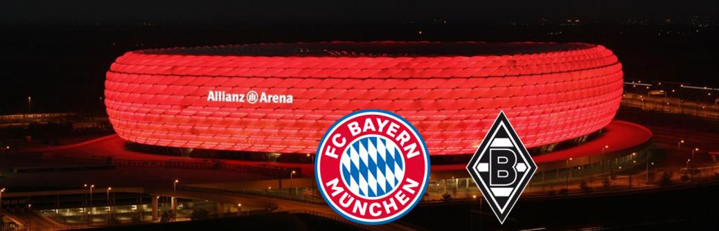 FC BAYERN  vs  Borussia Mönchengladbach