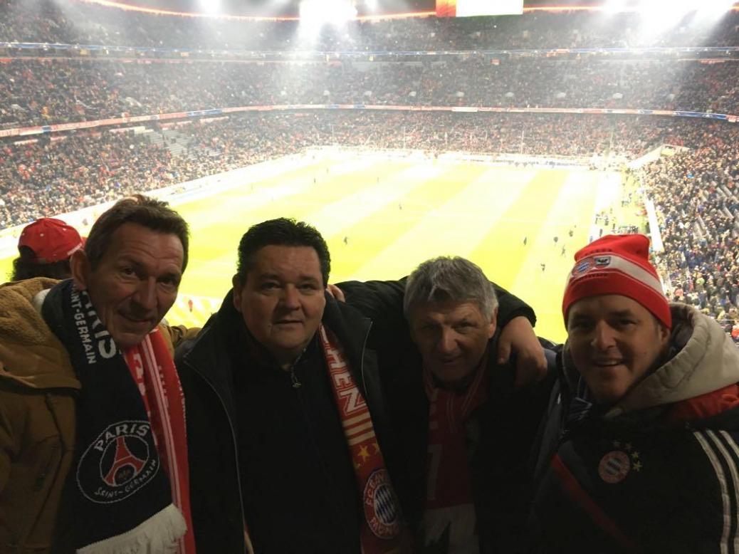 FC BAYERN  vs  Paris Saint-Germain