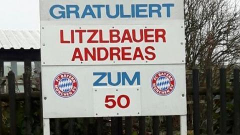 Litzlbauer Andreas wurde  50