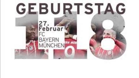 HAPPY BIRTHDAY  FC BAYERN