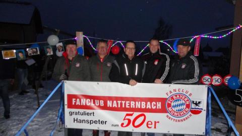 Auer Hanspeter wurde 50