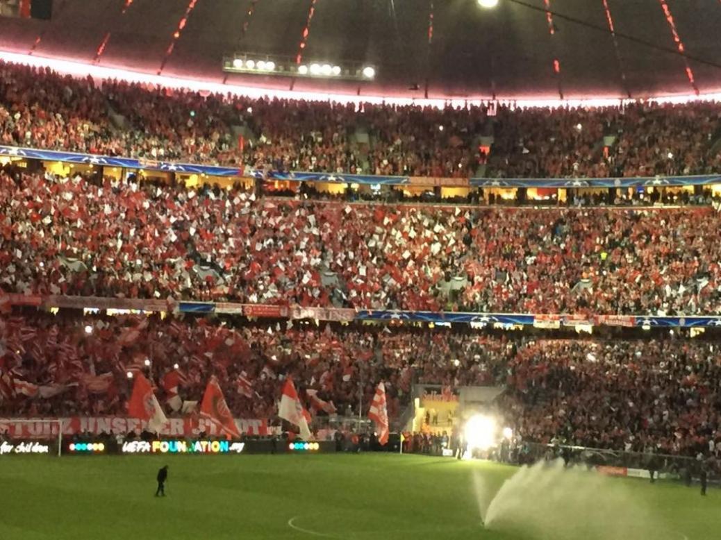 FC BAYERN  vs  Real Madrid