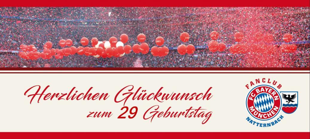 Fanclub Geburtstag
