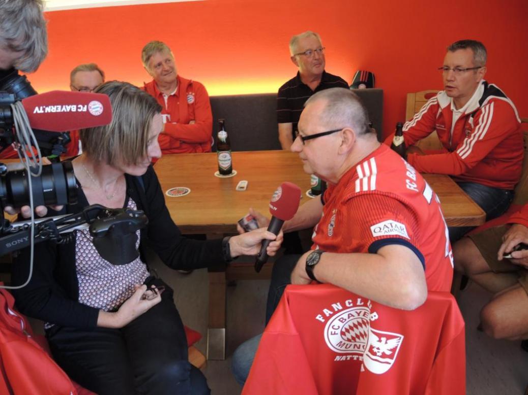 FCB TV bei unserem Fanclub