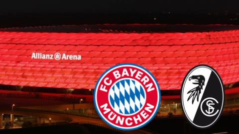 FC BAYERN  vs  SC Freiburg