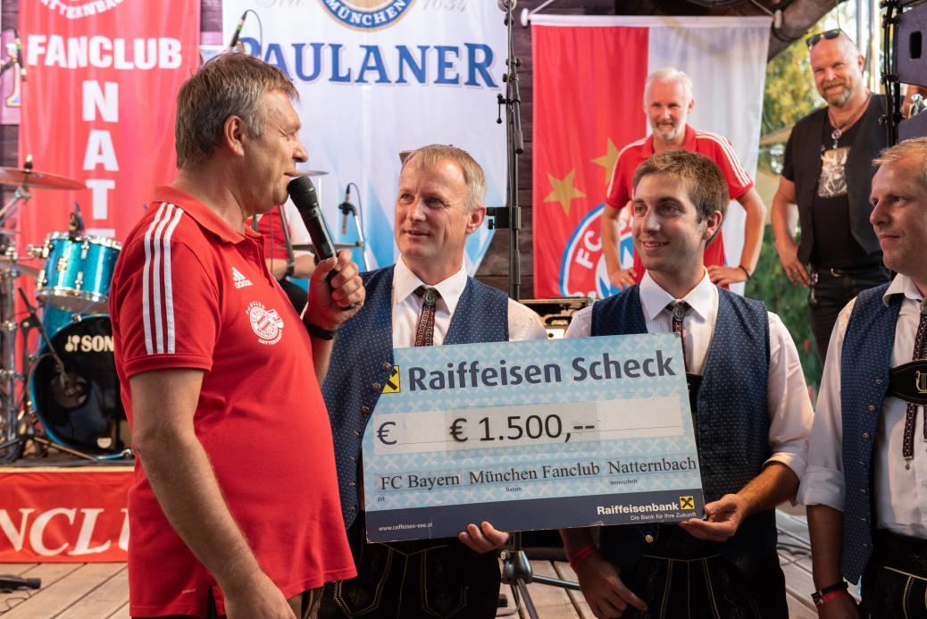 Spende an den Musikverein Natternbach