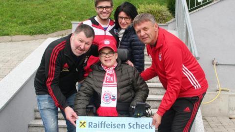 Fanclub unterstützt unser Mitglied Tobias