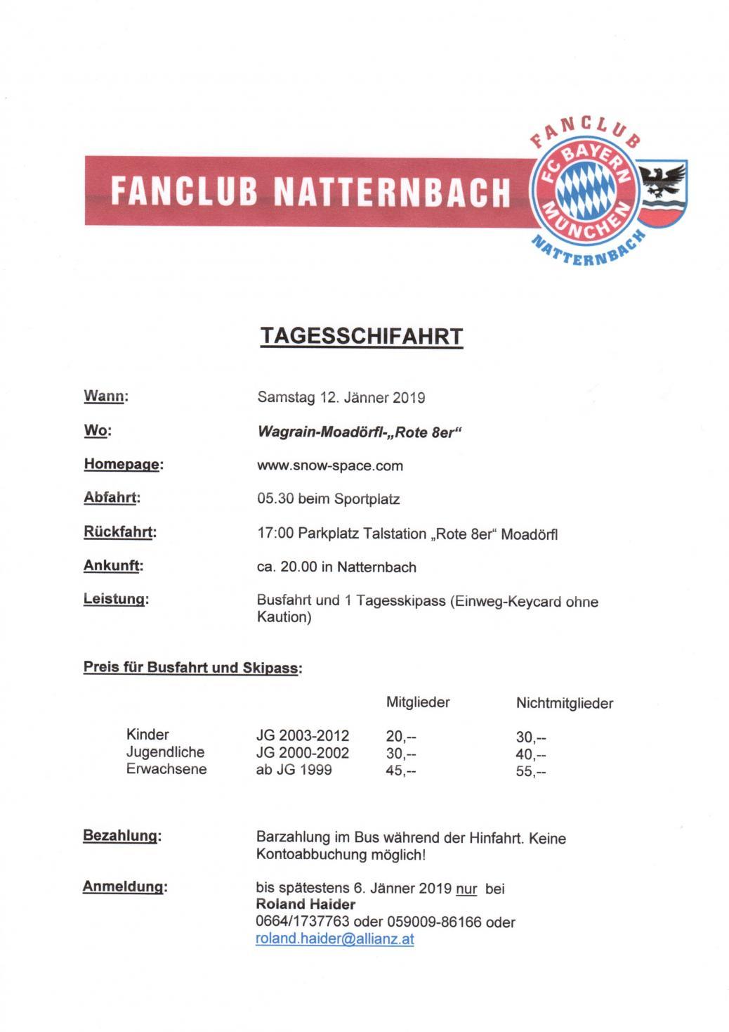 Fanclub Schitag