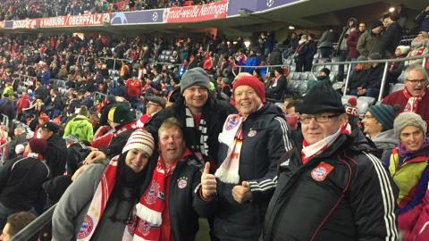 FC BAYERN  vs  Benfica Lissabon