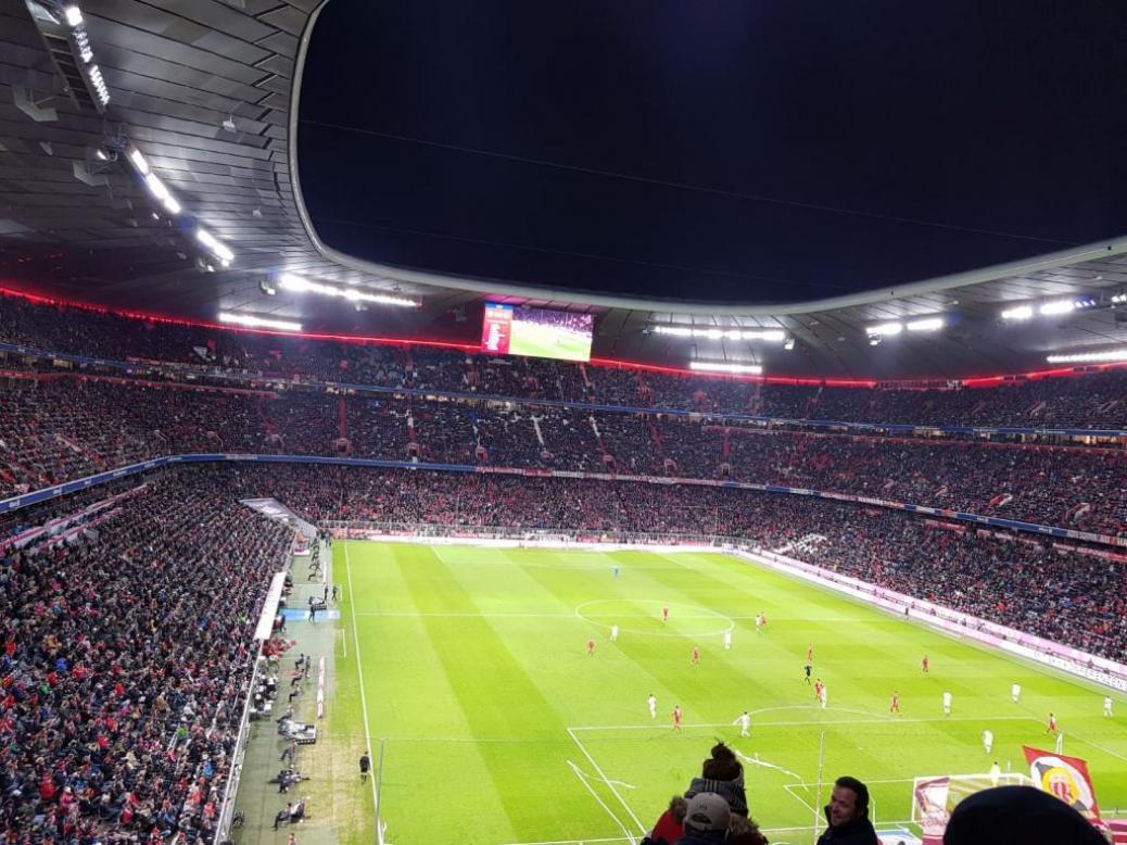 FC BAYERN  vs  1. FC Nürnberg