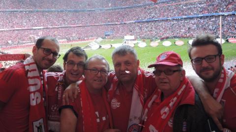 FC BAYERN  vs  Eintracht Frankfurt
