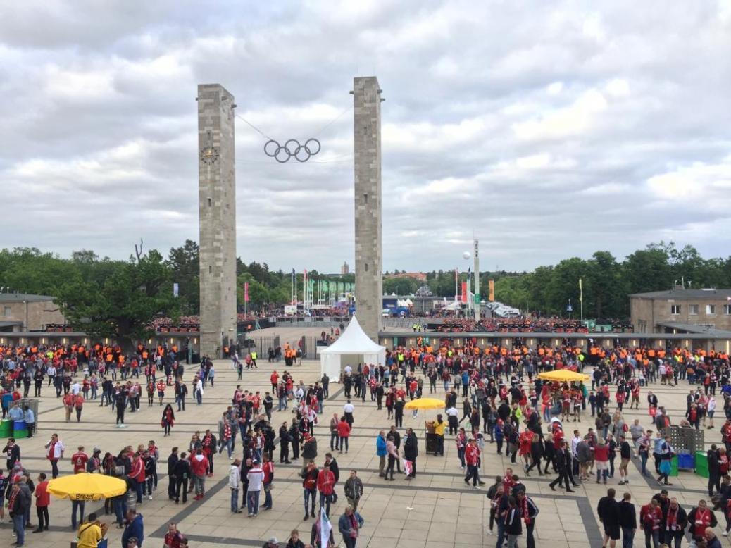 Pokalfinale in Berlin