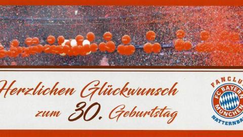 30. Geburtstag unseres  Fanclub