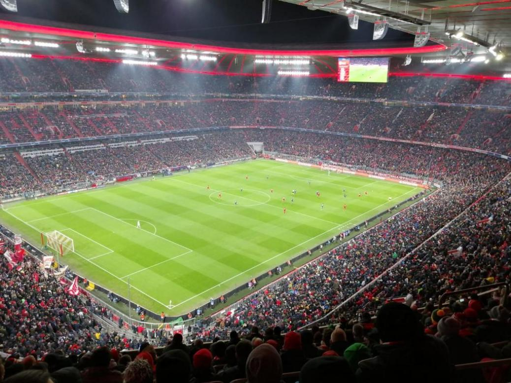 FC BAYERN  vs  Tottenham Hotspurs