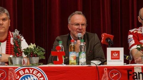 K.H. Rummenigge beim Fanclub Antiesental
