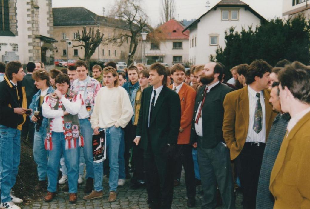 Weihnachtsfeier mit Klaus Augenthaler