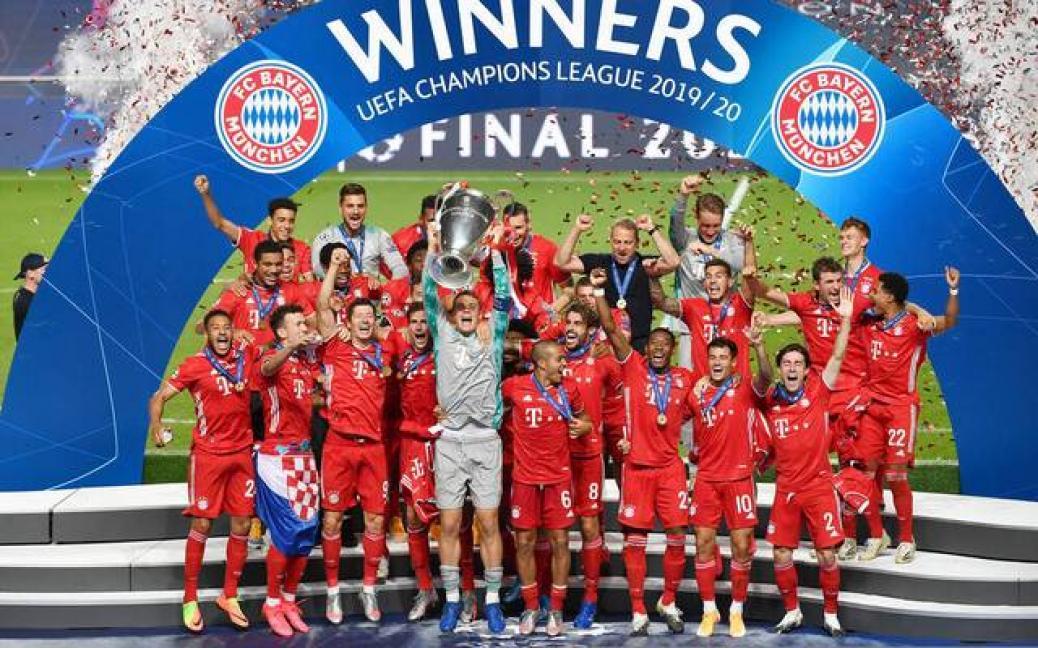 FC Bayern holt das TRIPLE