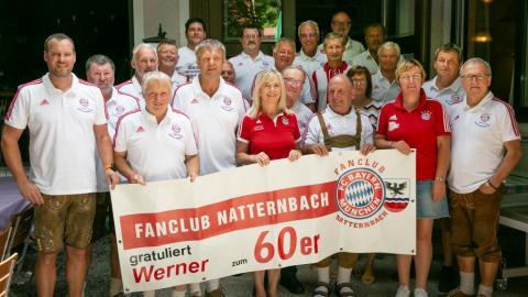 Werner wurde 60zig